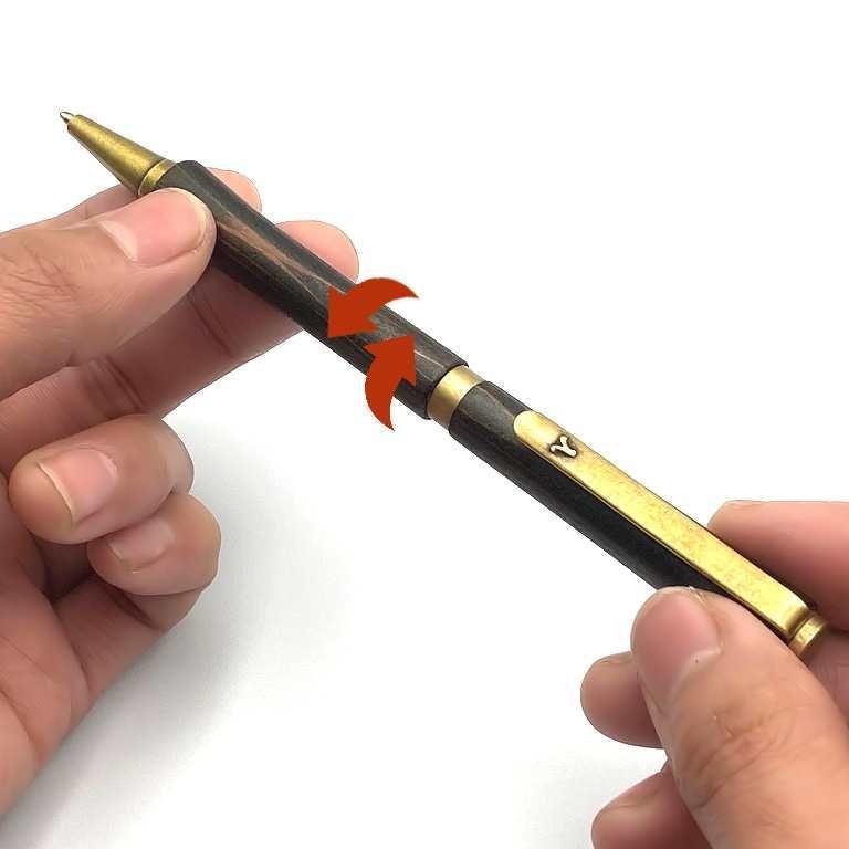ツイスト式のペン